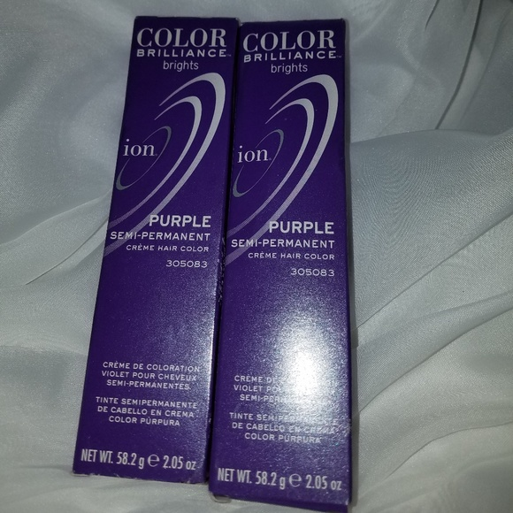Ion Other - Ion Color Brillance Brights purple violet hair dye